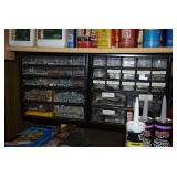 Organized Screws, Nails and Parts