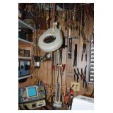 Wiring Tools and Magnifying Lamp