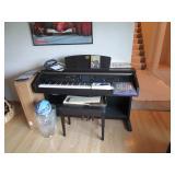 Piano electronic