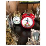 Alarm clocks (mickey, westclox, etc)