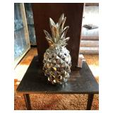 Silver colored pineapple