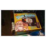 Shot buster/ping pong balls/darts