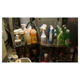 Cleaning supplies- windex/ajax/lysol