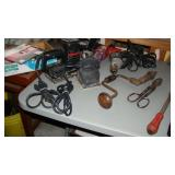 Miscellaneous power tools (sander, power drill)