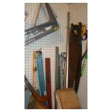 Miscellaneous, hand saw