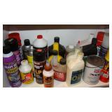 Oil, engine degreaser, gorilla glue