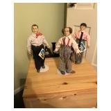 The Three Stooges Figurines