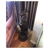 dog figurine large