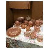 decorative glass plates and bowls