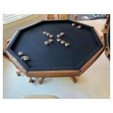 Mikhail Darafeev Bumper Pool and Card Table and Chairs