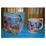 Muggamals - mug with Donald Duck at top of handle - bought at Sears