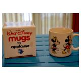 Minnie Mouse -Walt Disney - mugs by Applause - Box has picture of Mickey through the years from 1928