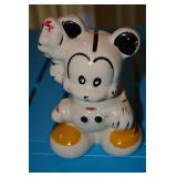 Mickey Mouse - Ceramic Bank - no writing on piece - paint is in great shape