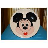Mickey Mouse Plate full face Mickey - white - Walt Disney Prod