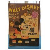 Walt Disney Paint Book - 48 pages - Whitman Publishing Company, Racine, Wisconsin- No 627 (.79)