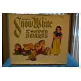 Snow White & the Seven Dwarfs ($29.95), Illustrated, 1979, with paper jacket