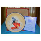 Mickey Mouse - Sorcerers Apprentice - Commerative Plate - Golden Anniversary -  Schmid 4741/20000