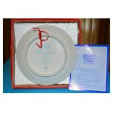 Mickey Mouse - Sorcerers Apprentice - Commerative Plate - Golden Anniversary -  Schmid 907/20001