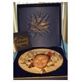 Commerative plate for 85th Anniversary of Walt Disney birthday - #13277/25000, 1986