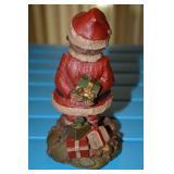 Composite- Gnome- Cairn Studio, Ltd- Mr. Claus , # 1180 stamped on rear of base behind Santa, Clark,