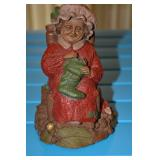 Composite - Gnome - Cairn Studio, Ltd. - Mrs. Claus,#5059 stamped on side of chair,# 50 in a circle