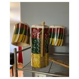 Decorative bongos