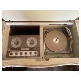 Vintage radio conosle