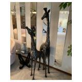 Large Giraffe statues