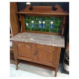 Oak Wash Cabinet