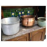 Various Pots