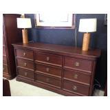 Mahogany Tripple Dresser