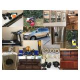 Silverstone Online Estate Auction-Conroe, TX - High End Home Goods, Photography, Sporting Goods