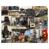 Conroe Ministry Online Estate Auction - Harley Davidson bikes, tools, parts, fabrication equip