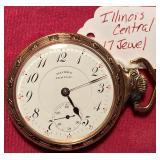 Illinois Central 17 Jewel