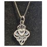 Sterling Chain with Pendant
