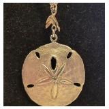 Sterling Sand Dollar Necklace