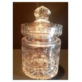 Med. Crystal Apothecary Jar