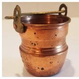 MINIATURE Brass/Copper Pail
