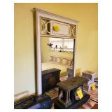 Vintage French Provencial Dresser w/ Mirror