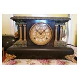 Antique Sessions 8-Day Clock