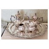 Vintage Towle Grand Dutchess Silver Plated Tea Service