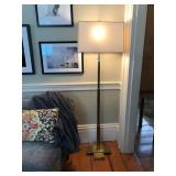 Brass Floor Lamps pair