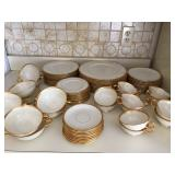 perfect condition 12 place settings Lenox Tuxedo