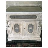 marble top with mirror