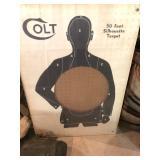 Colt target w/mirror insert