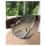 #4 hanging snowshoe chair $55