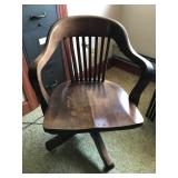 #54 oak swivel $45