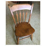 #56 Ethan Allen chair $ 18