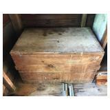#82 wood box $18