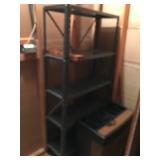 #66 metal shelf $15